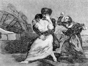 Saqueo, Goya